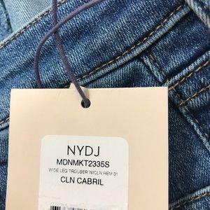 NYDJ Jeans - NWT NYDJ Wide Leg Trouser Jeans $119